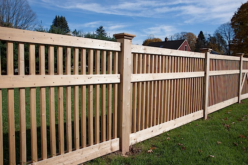 Wood Fence Styles | CT Wood Fence Installation | Cedar ...
