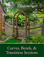 Vinyl Fence Transitions Curves and Bends