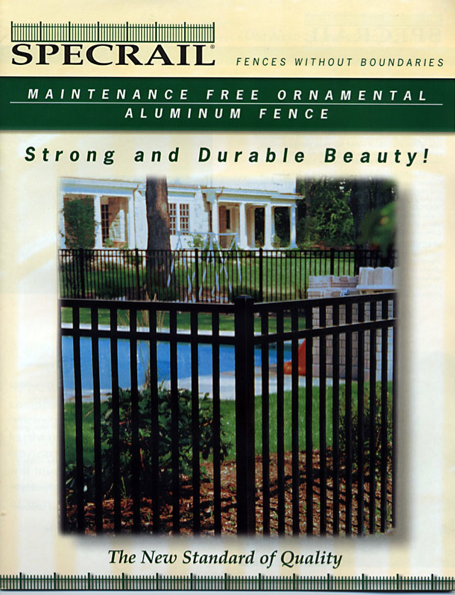Free Fence Resources Active Yards Brochures Aluminum
