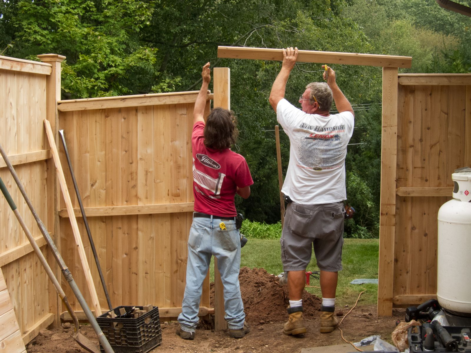 Connecticut fence installers